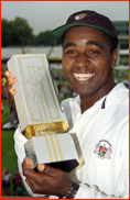 Captain Mark Alleyne with the NatWest Trophy