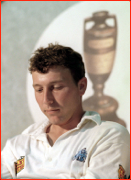 England captain Michael Atherton & those elusive Ashes, Melbourne, Australia.