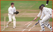 Richard Johnson run out by Jon Batty (+Jason Pooley)