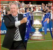 Hampshire chairman Rod Bransgrove with the C&G Cup