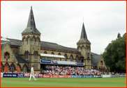 County Championship match v Hampshire at Cheltenham