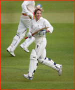 Former England captain, Clare Connor, MCC v Lords & Commons.