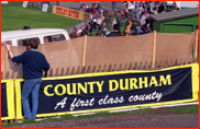 The inaugural first class match, Durham