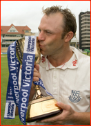 Captain Chris Adams, county championship winners, 2006