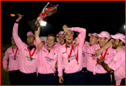 Middlesex celebrate winning the 2008 Twenty20 final