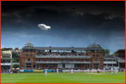 Lonely as a cloud...Lord's, London.