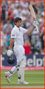 Alastair Cook, double hundred v India, 2011