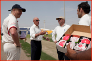 The toss, Abu Dhabi, 2012