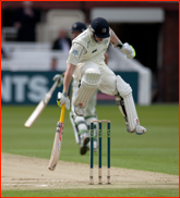 Sam Robson makes his ground - eventually, Lord's, 2012