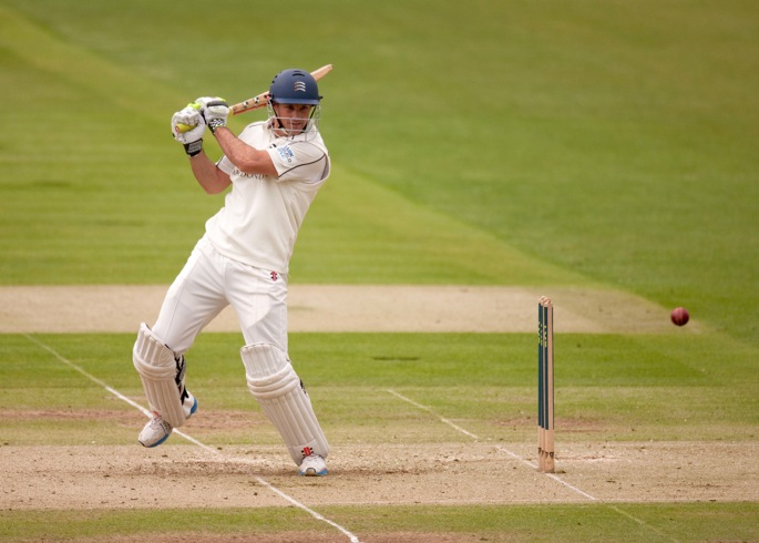 Andrew Strauss during his final Middlesex game at Lord's
