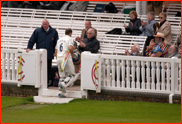 Andrew Strauss' final exit at Lord's for Middlesex, 2012