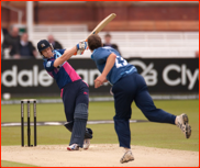 Joe Denly bats, CB40 v Gloucestershire, 2012