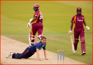 Tim Murtagh down as WI's Bravo and Smith run, 2012