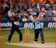 Luke Wright bats, FLt20 match v Essex, Chelmsford, 2012