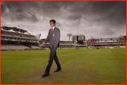 Alastair Cook at Lord's on his first day as England captain.