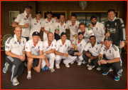 After 28 years, England celebrate their Test win in India