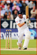 Jonny Bairstow bats during the 4th Ashes Test, 2013