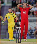 Stuart Broad amused by Aaron Finch's 100, Southampton