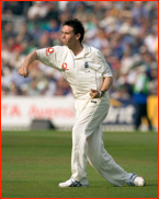 Gary Pratt fields for England during the Ashes Series