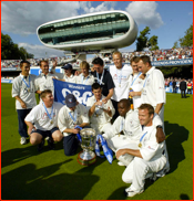 After the 2003 C&G Final v Worcestershire at Lord's