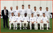 Gloucestershire CCC team photo, NatWest, 2000