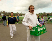 'Milkman' David Graveney is followed by Ian Botham