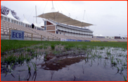 Waterlogged Rose Bowl as the opening match is abandoned