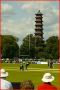 Kew Gdns Pagoda, Middlesex v Scotland, Richmond