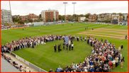 Mushtaq Ahmed's retirement ceremony, Hove, 2008