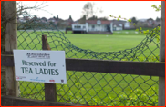 A tea ladies parking spot at New Road, Worcester