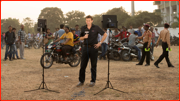 In dispute: Sky TV's Michael Atherton reports from the Nagpur car park