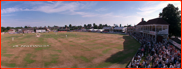 The parched County Ground at Southampton in 1998
