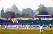 India v England Test Match, Lucknow, India.