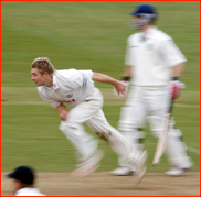 Luke Wright bowling, 2006