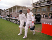 Openers Tony Wright & Nick Trainor, record stand of 311