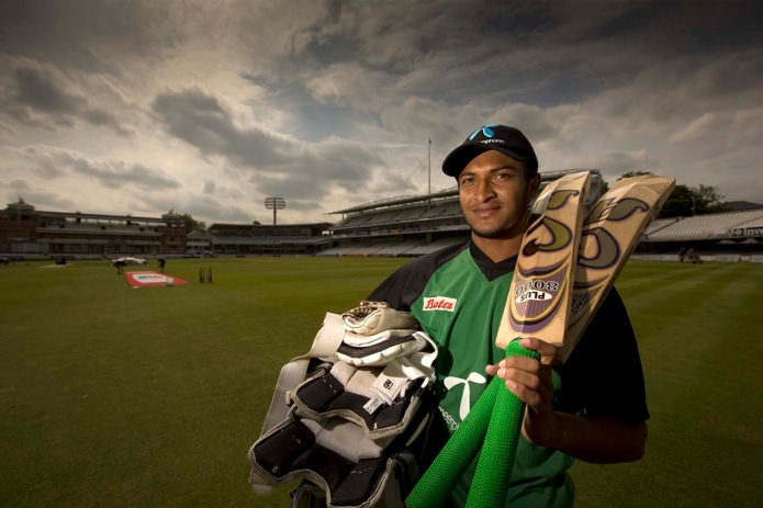 Shakib Al Hasan, Lord's, London, England.