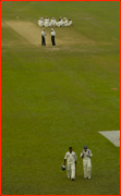Floodlight failure, Dhaka Test.