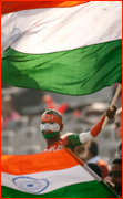 India supporter, Mohali.