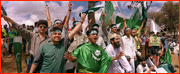 Pakistan supporters, Kenya.