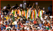 India supporters, Trent Bridge, England.