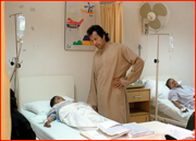 Imran Khan, Shaukat Khanum Memorial Cancer Hospital, Lahore.